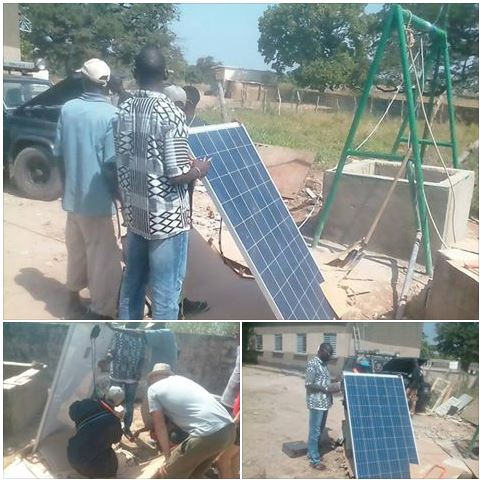 sistema fotovoltaïc de Bombeig